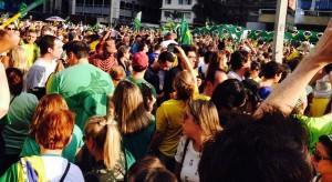 Avenida Paulista, em São Paulo. 16 deagosto de 2015